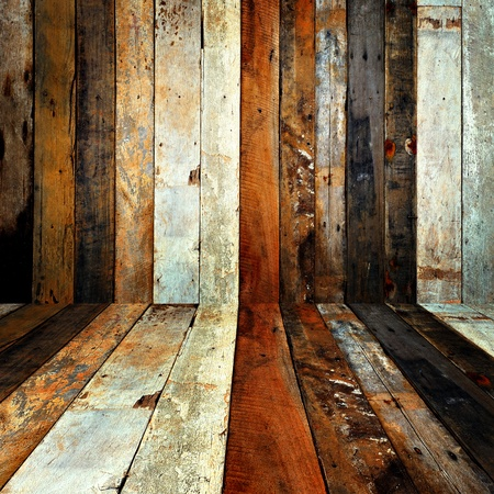 Wood wall background.