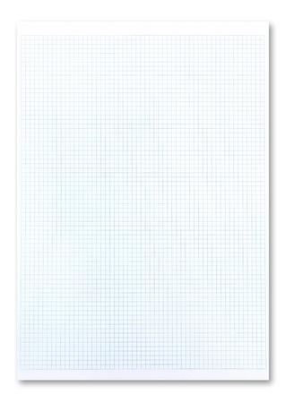 Photo pour Blue graph paper  - image libre de droit