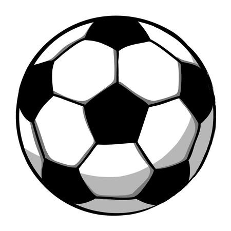 Soccerball cartoon