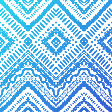 Boho Chevron Pattern