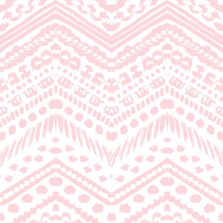 Aztec zig zag pattern