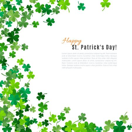 Illustration pour St Patrick's Day background. - image libre de droit