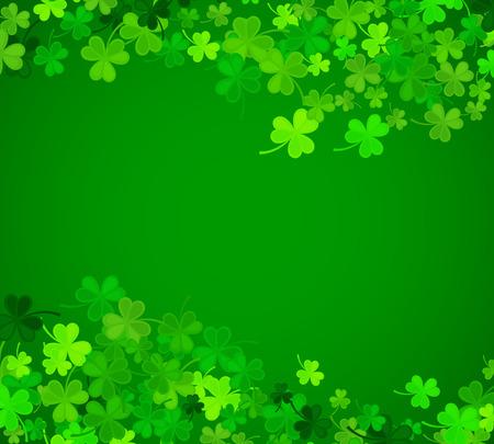 St Patrick's Day background.