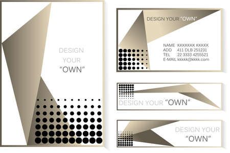 Luxury Lay out -cover and banner business  design