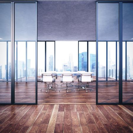 Photo pour Empty contemporary office interior - image libre de droit