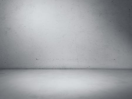 Foto de Concrete studio room. 3d rendering - Imagen libre de derechos