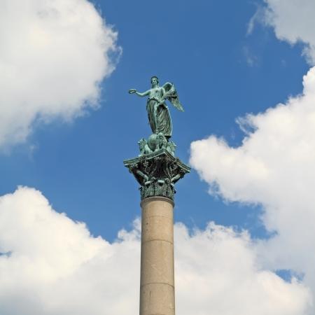 Statue of Concordia, at Schlossplatz - Stuttgart