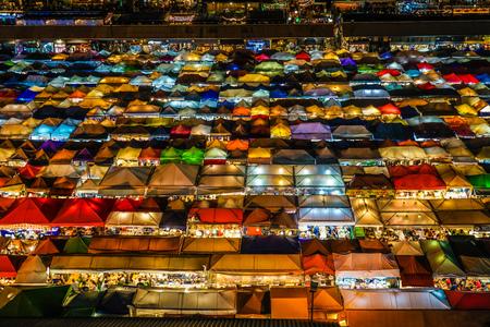 Talat lot Phi Ratchada (night market of Thailand, Bangkok)