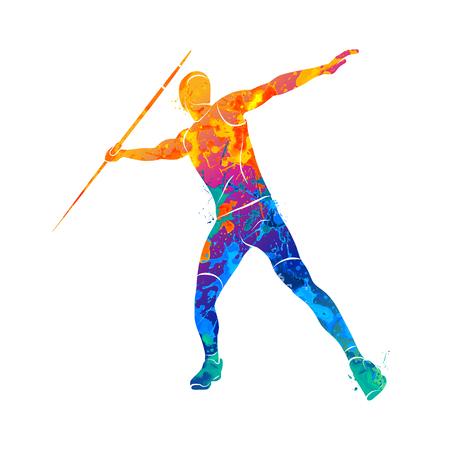 Javelin throw Athlete