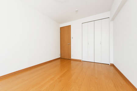 Photo for Interior doors and walls Simple unfurned apartment space - Royalty Free Image