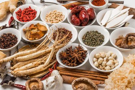 Foto für Medicinal Chinese Medicine Health Food Medicine Herbs Chinese Medicine - Lizenzfreies Bild