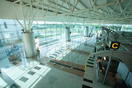 Terminal in Sharjah International Airport