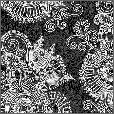 Floral Swirls Pattern