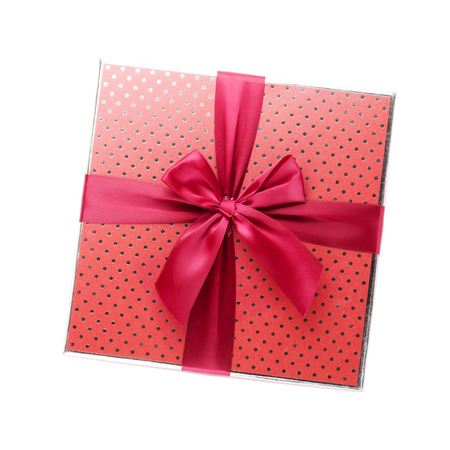 Gift box. Isolated on white background