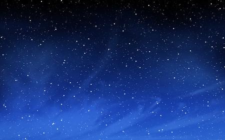 Deep night sky with many stars background