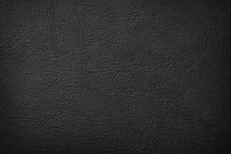 Photo pour Black leather texture background - image libre de droit