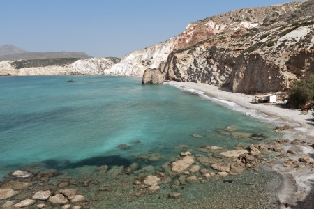 Firiplaka Beach Milos Island Greece