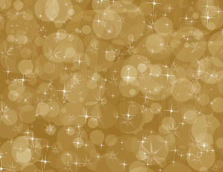 A golden background with sparkles, abstract pattern background