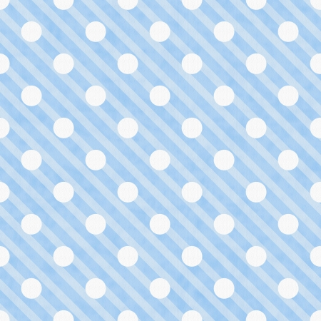 Blue and White Polka Dot Fabric Background  that is seamless and repeats