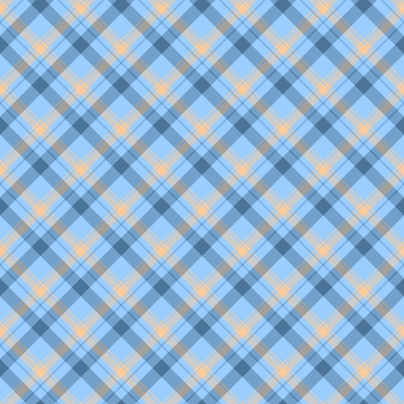 Blue and Beige Plaid Fabric Background that is seamless and repeats
