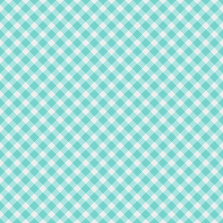 A light aqua blue gingham fabric  background that is seamless