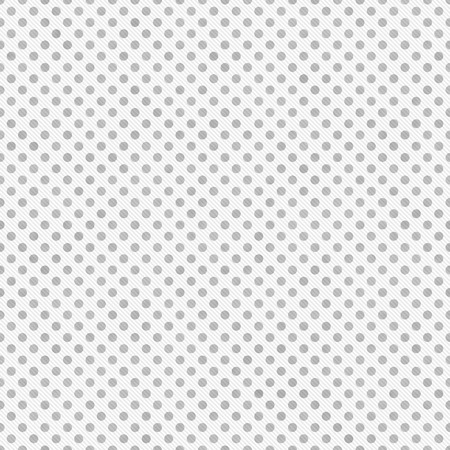 Light Gray and White Small Polka Dots Pattern Repeat Background that is seamless and repeats