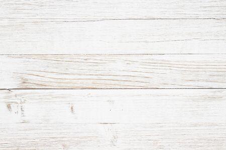 Foto de Weathered whitewash wood textured background with copy space for your message - Imagen libre de derechos