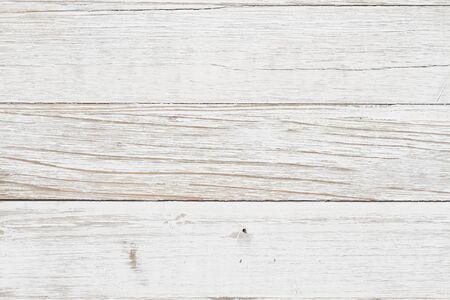 Foto de Weathered whitewash wood textured material background with copy space for your message - Imagen libre de derechos