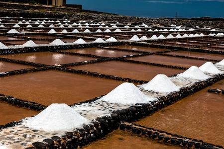 Salt will be produced in the old historic saline on Fuerteventura.