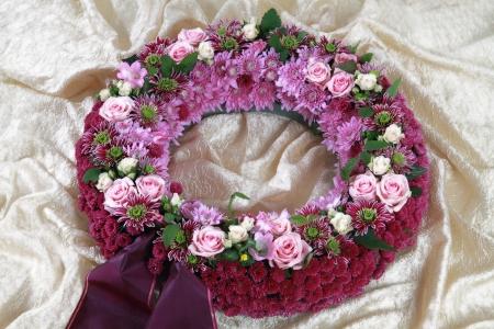Blumengesteck zur Beisetzung