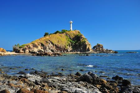 Lighthouse on the Ocean