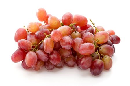 Photo pour Red Grape, Crimson Seedless Grapes - image libre de droit
