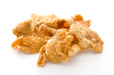Photo for Crispy Fried Chicken Skins - Royalty Free Image