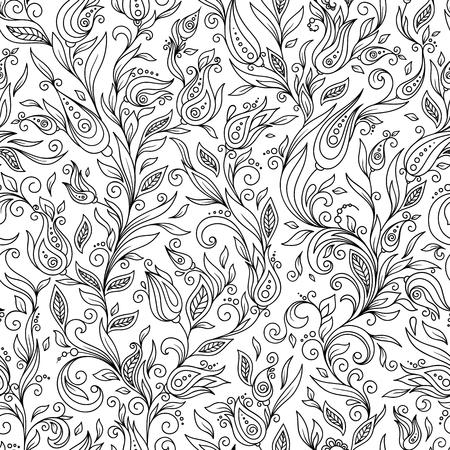 Flower Doodle Pattern