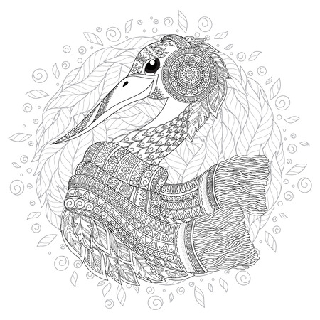 Birds - Coloring Pages for Adults | 450x450