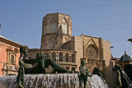 The Saint Mary's Cathedral or Valencia Cathedral in Spain is a Roman Catholic parish church