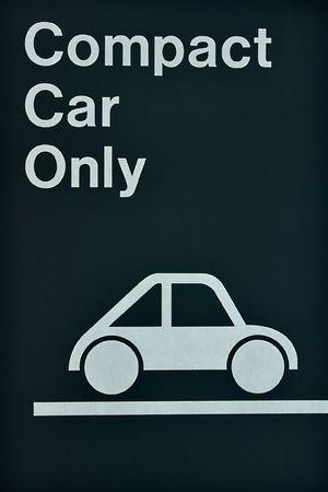 Close-up sign