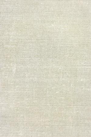 Natural vintage linen burlap texture background in tan, beige, yellowish, grey