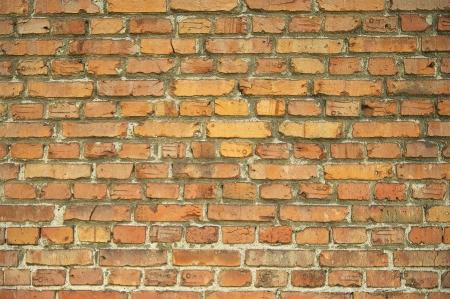 Old brick wall. Brick textur