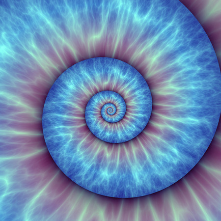 Abstract spiral pattern. fibonacci pattern
