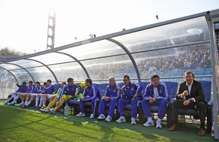 KYIV, UKRAINE - April 23, 2011: FC Dynamo Kyiv