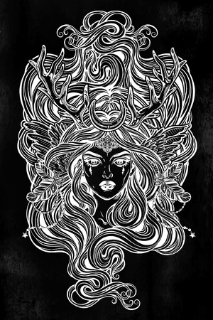 wiccan coloring pages az coloring pages. coloring sheets little ... | 450x300