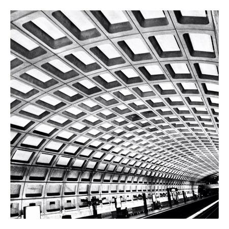 Metrorail Station in Washington DC