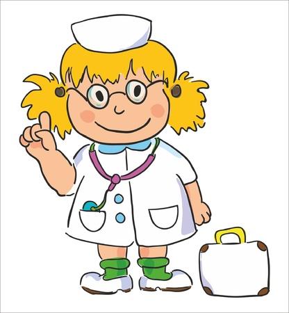 vector illustration- doctor