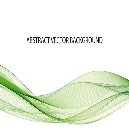 Illustration pour Green wave. Modern layout design. abstract vector background. eps 10 - image libre de droit