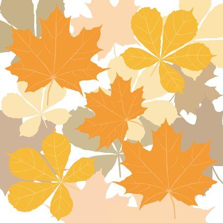 Autumn leaves. A decorative element