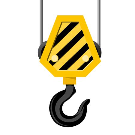Industrial hook - construction crane hook
