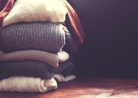 Photo pour sweater closeup  - image libre de droit