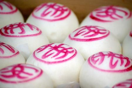 Lucky buns in Cheung Chau Bun Festival Hong Kong