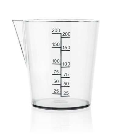 Photo pour Measuring cup isolated on white background - image libre de droit